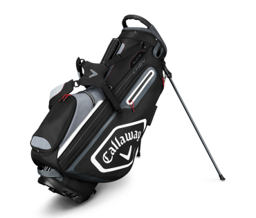 Callaway Chev Carry Bag Black Silver White