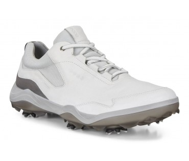 Ecco Goretex Racer Golf shoe White 1007