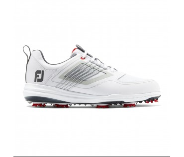 Footjoy Fury Golf Shoes White Red 51000