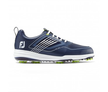 Footjoy Fury Golf Shoes Navy White 51001