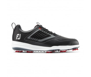 Footjoy Fury Golf Shoes Black Wide Fit