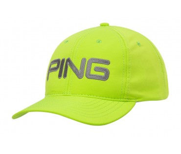 Ping Adjustable  Cap Lime Gray