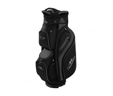 PowaKaddy DLX-Lite Edition Bag Black/Titanium/Silver