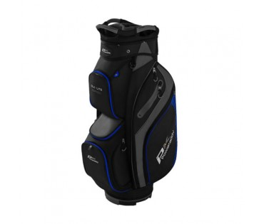 PowaKaddy DLX-Lite Edition Bag Black/Titanium/Blue