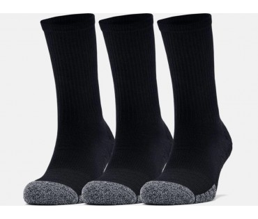 Under Armour Socks Crew Black 3 Pack 001