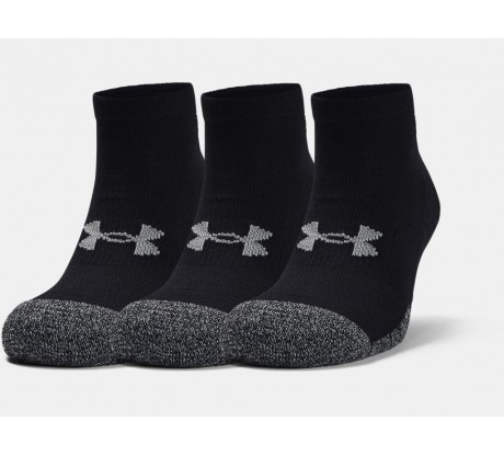 Under Armour Socks Lo-Cut 3 Pairs Black 001