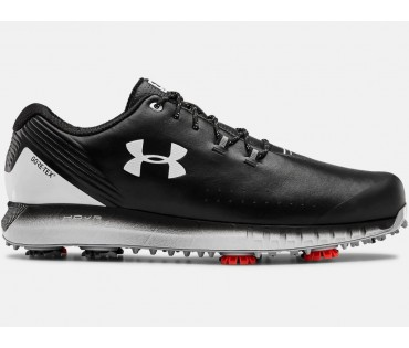 Under Armour HOVR Drive GTX- E Goretex Golf Shoes Black 001