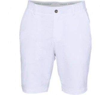 Under Armour EU Performance Taper Shorts White 100