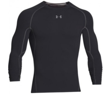 Under Armour Compression Heatgear Long Sleeve Black 001