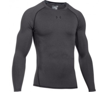 Under Armour Compression Heatgear Long Sleeve Charcoal 090