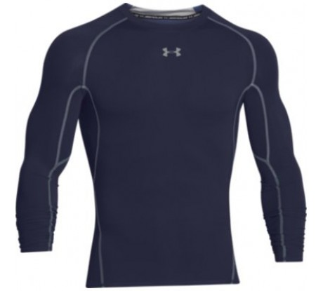 Under Armour Compression Heatgear Long Sleeve Navy 410
